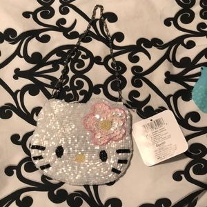 Sanrio Hello Kitty sequined coin purse